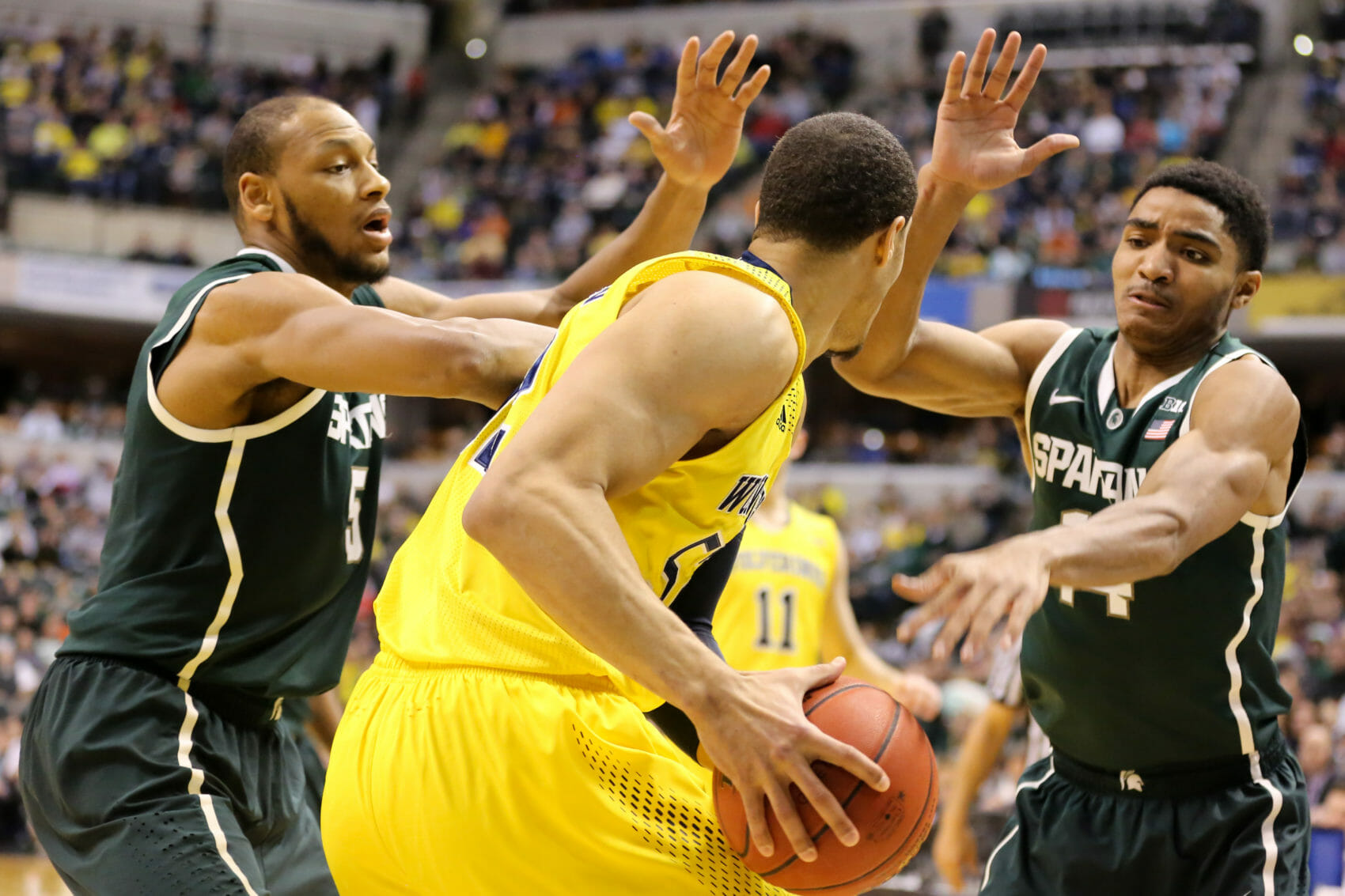 Michigan State 69, Michigan 55-16