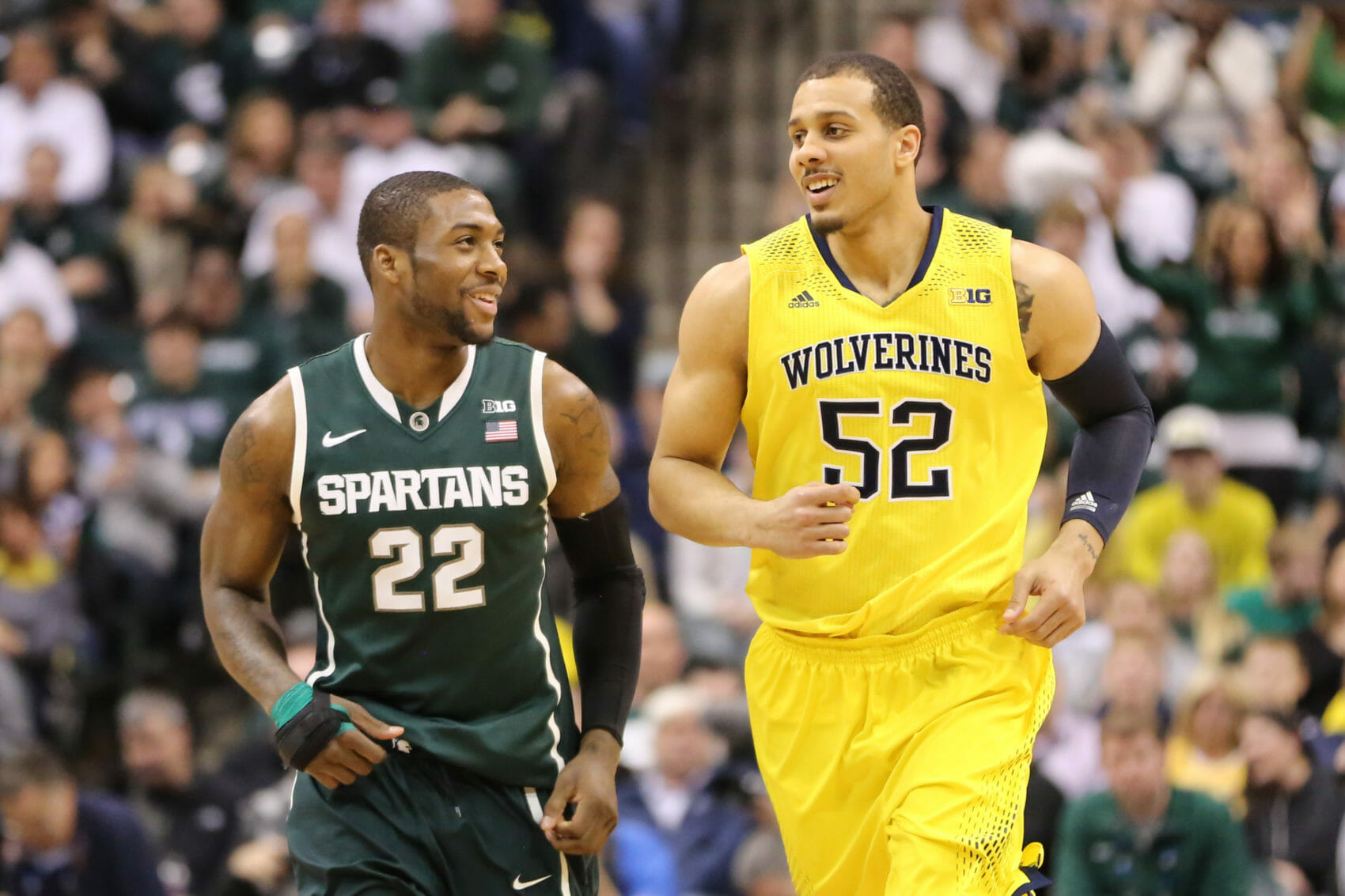 Michigan State 69, Michigan 55-15