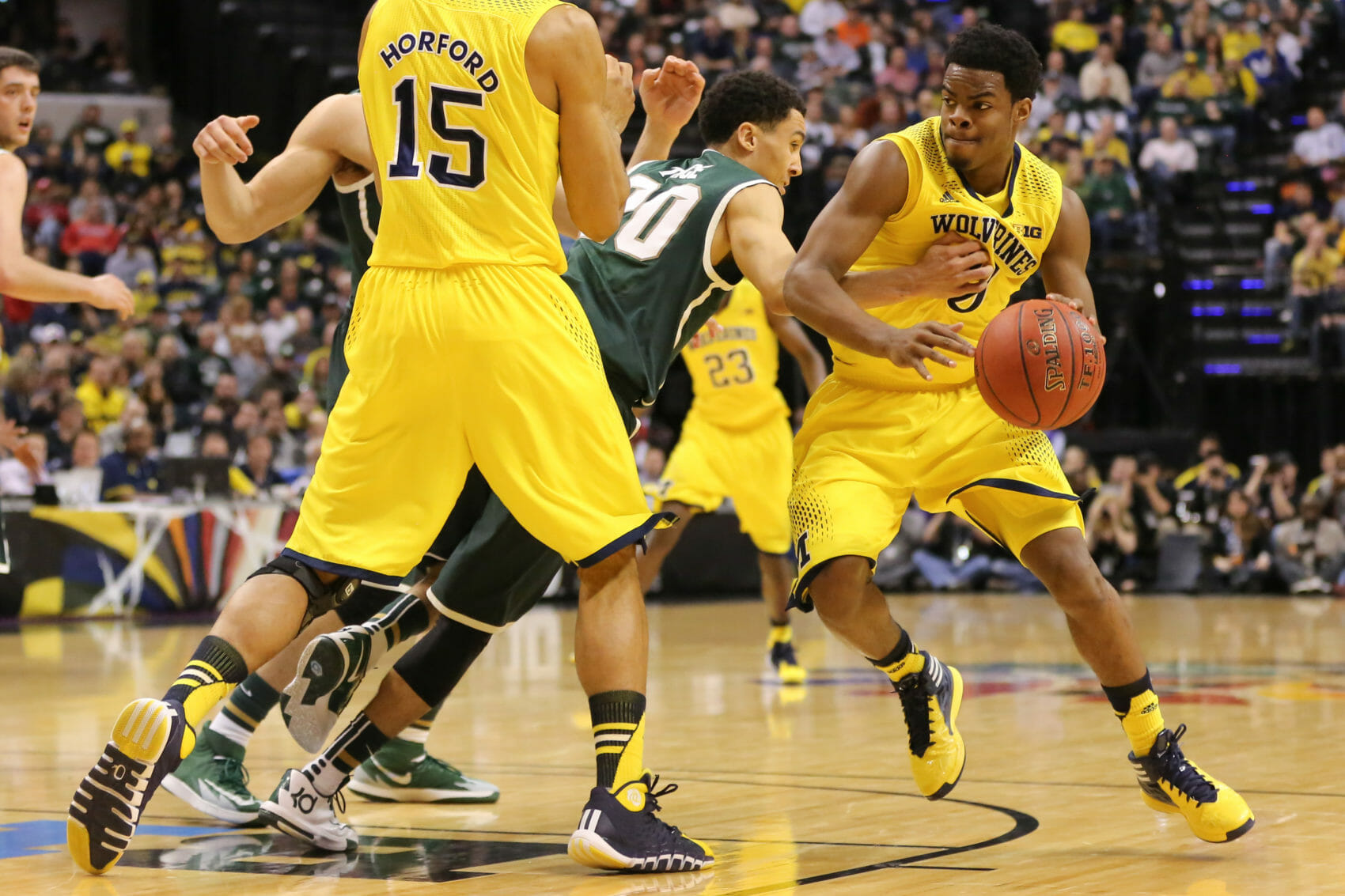 Michigan State 69, Michigan 55-12