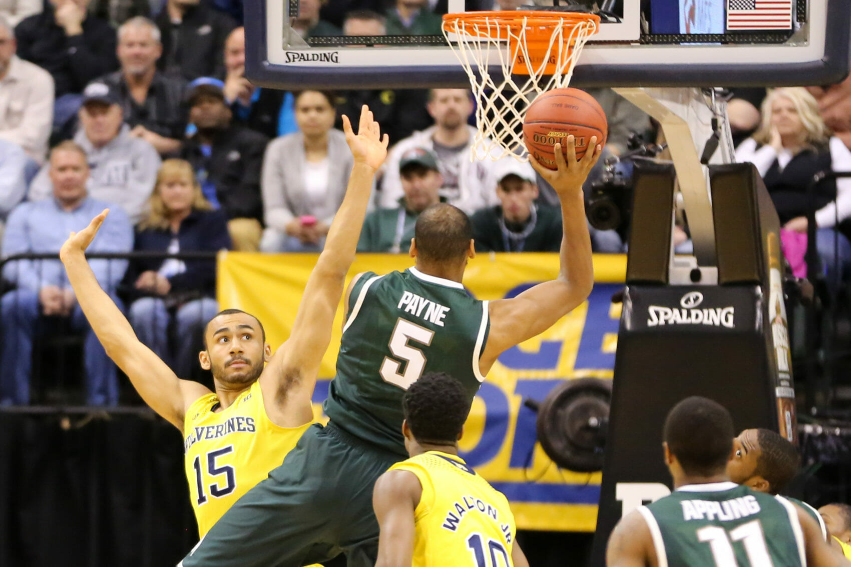 Michigan State 69, Michigan 55-2
