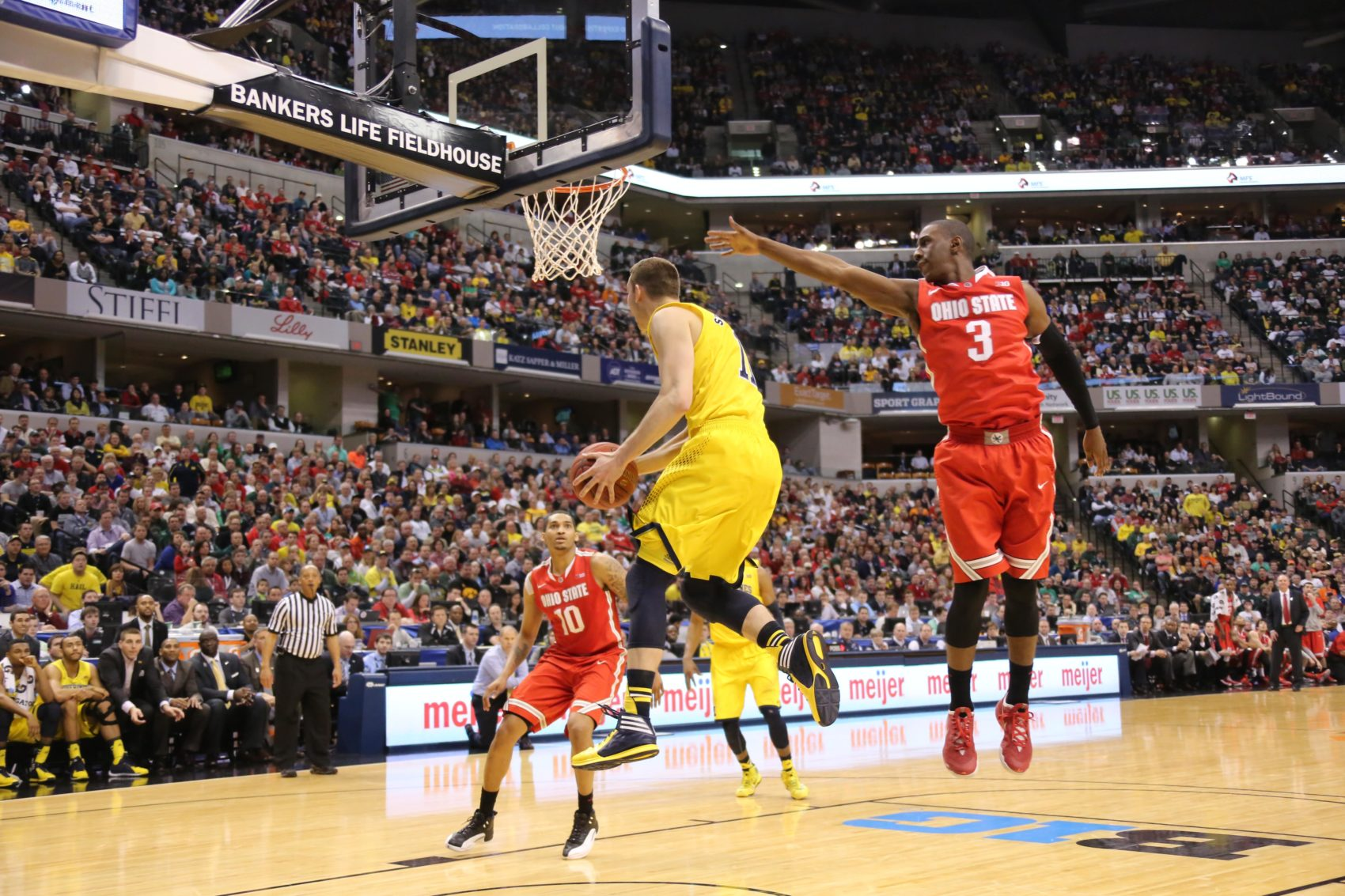 Michigan 72, Ohio State 69-24