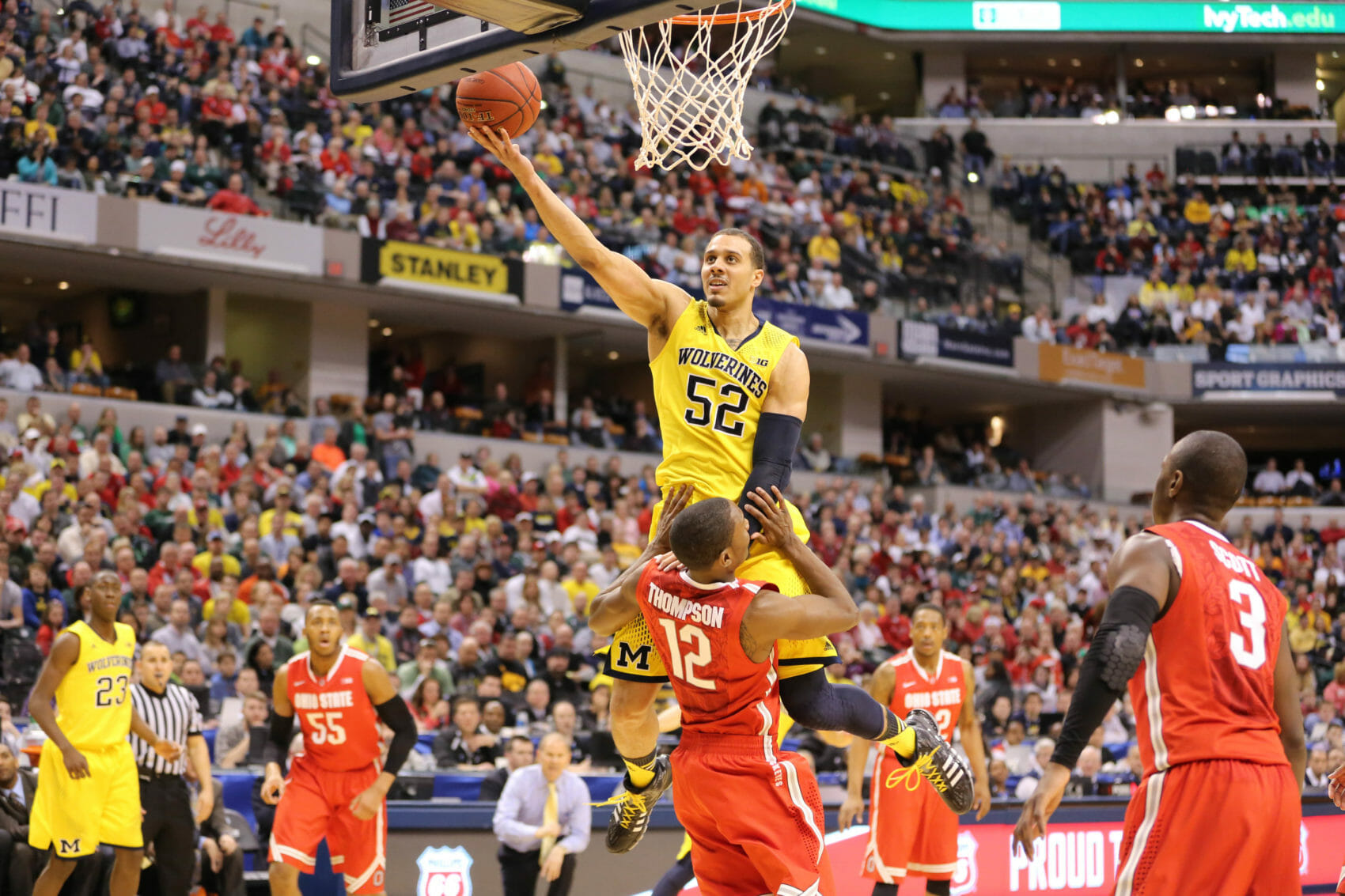 Michigan 72, Ohio State 69-21