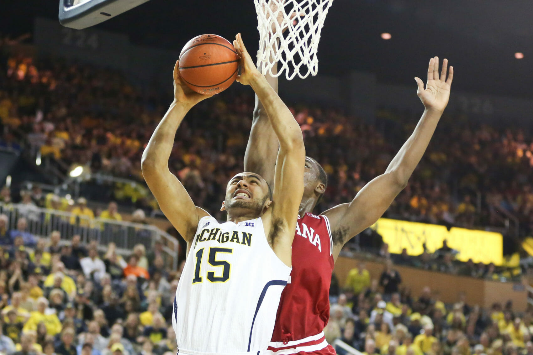 Michigan 84, Indiana 80-22