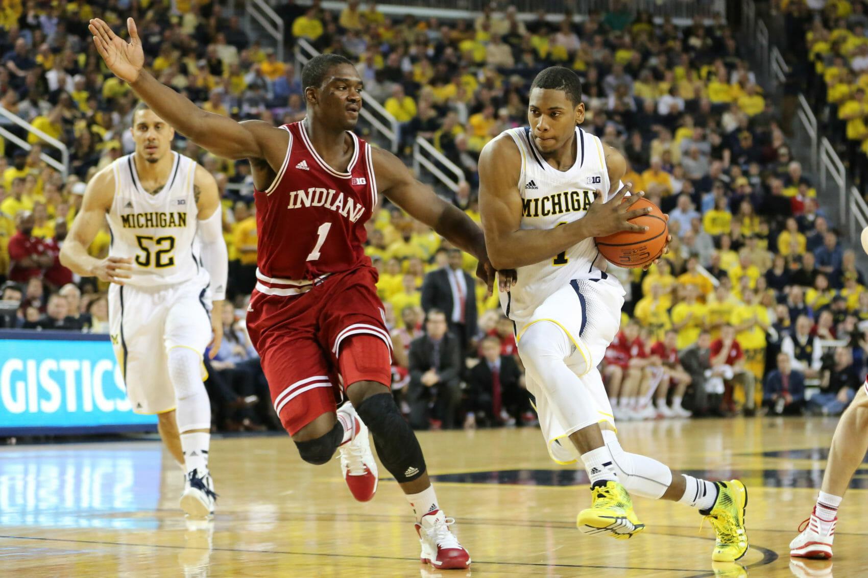 Michigan 84, Indiana 80-18