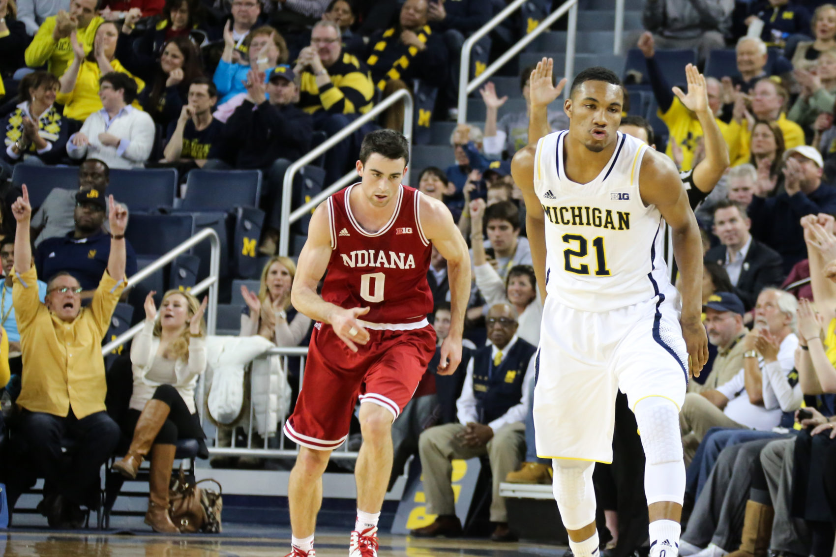 Michigan 84, Indiana 80-7