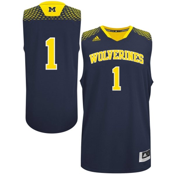 Michigan 'Made in March' Blue Jersey