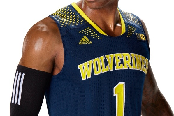 6607592362e Michigan to wear  Made in March  Adidas uniforms