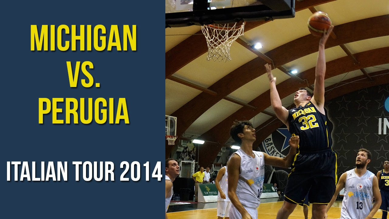 Michigan Italian Tour Highlights – Game #1 vs. Perugia Select