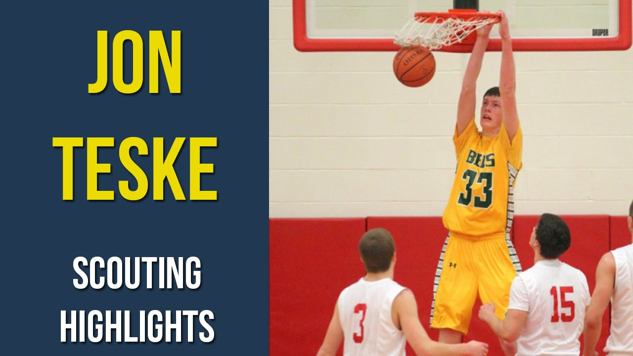 Jon Teske Sophomore Scouting Highlights – Michigan Commit