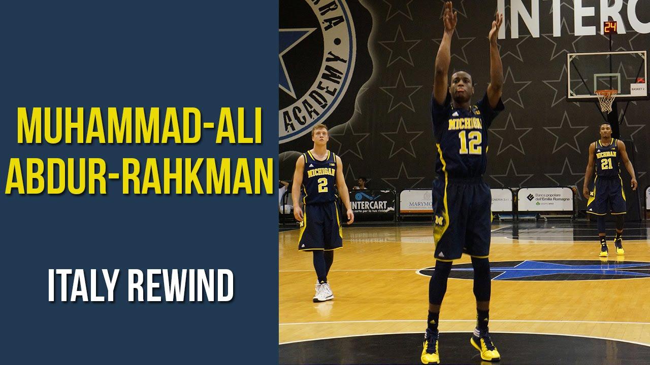 Italy Rewind: Muhammad Ali Abdur-Rahkman