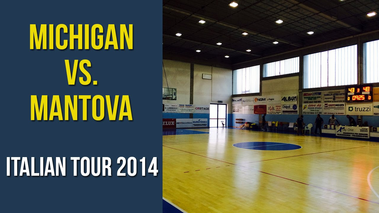 Video: Michigan vs. Mantova Stings Highlights