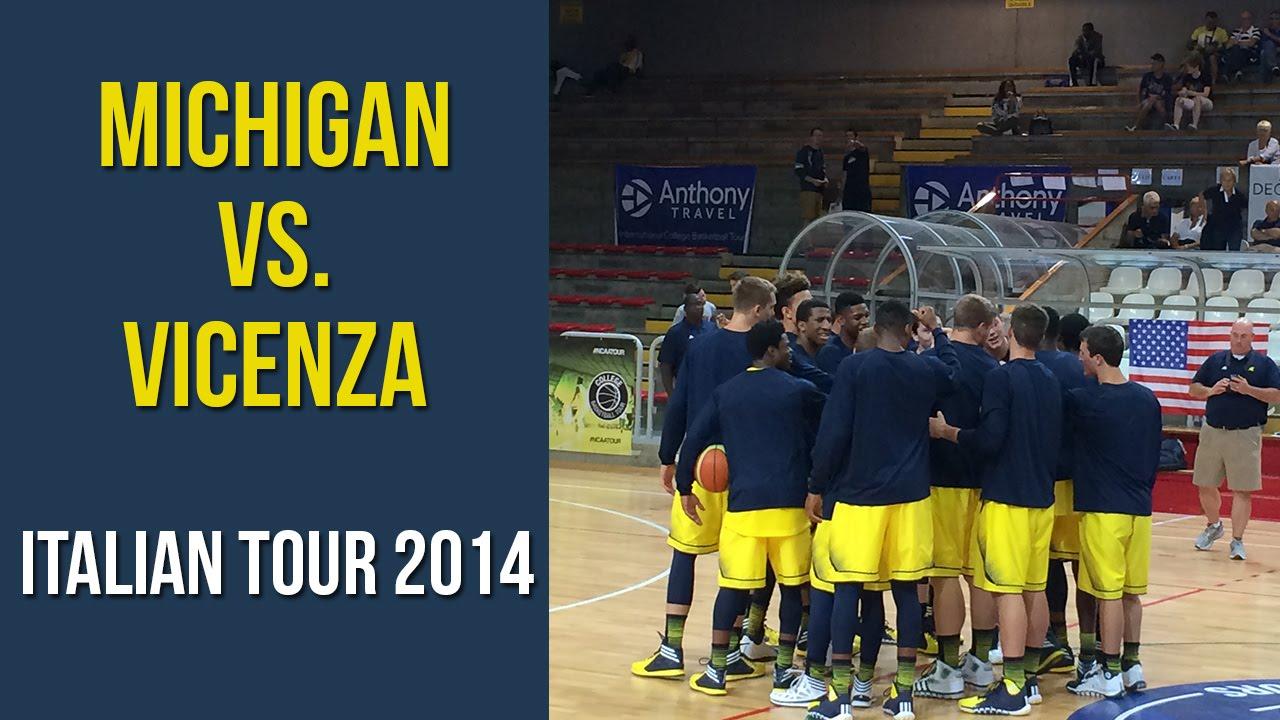 Video: Michigan vs. Vicenza All-Stars Highlights