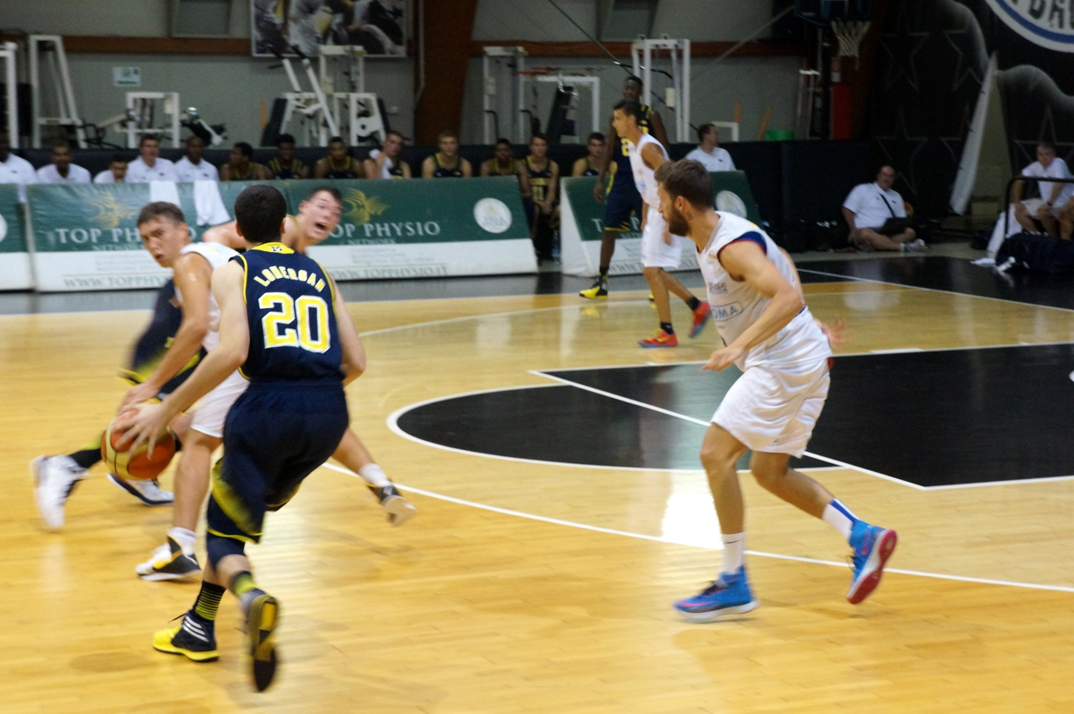 Michigan's Italian Tour Game #1 – 4