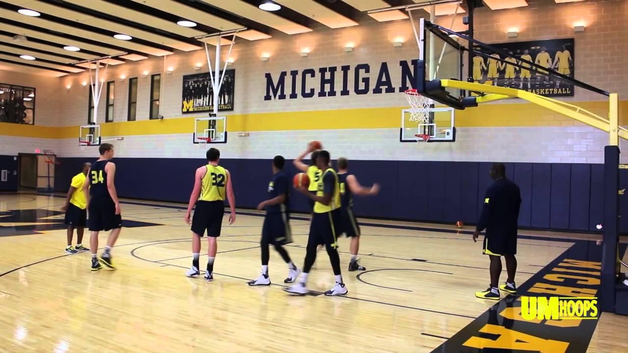Video: Inside Michigan's pre-Italy practice