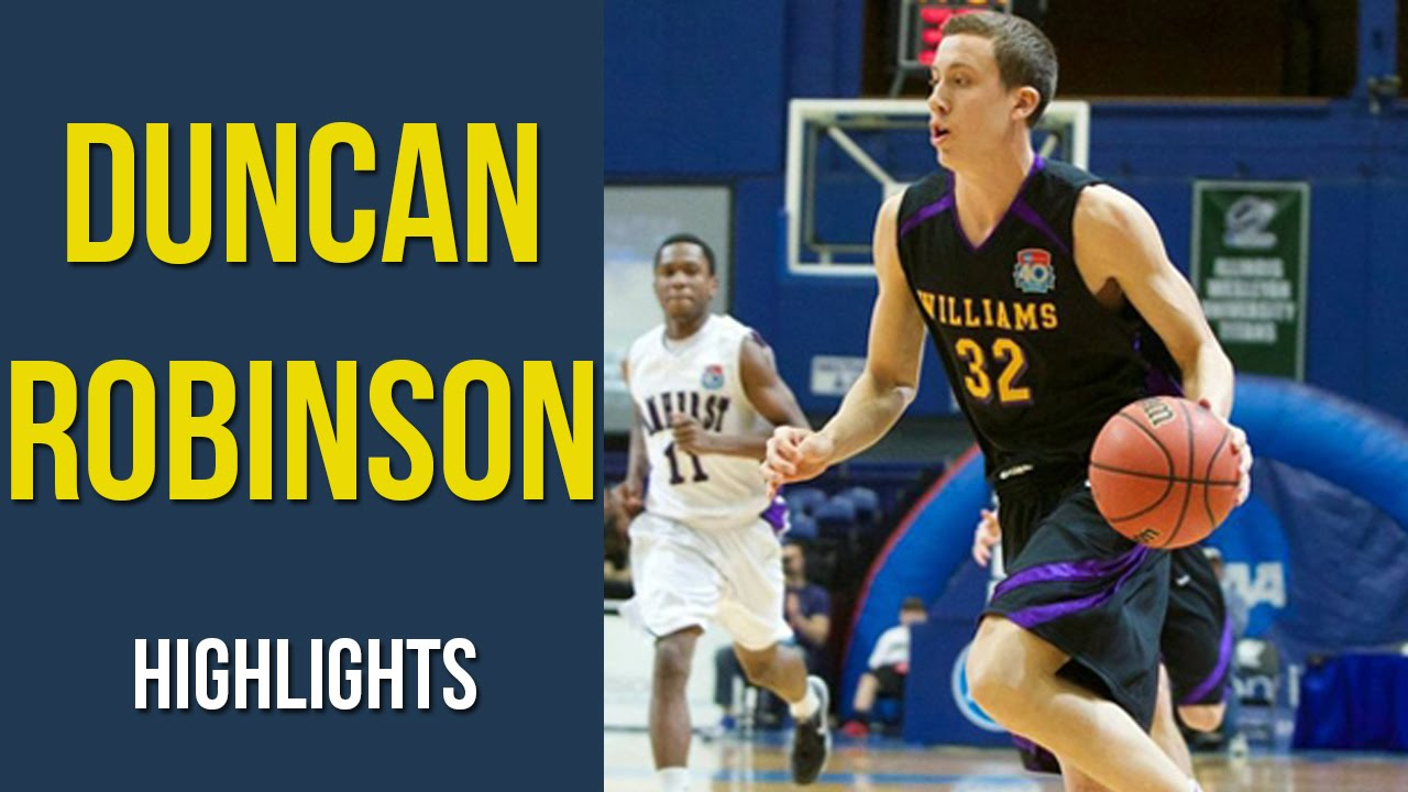 Division III transfer Duncan Robinson picks Michigan