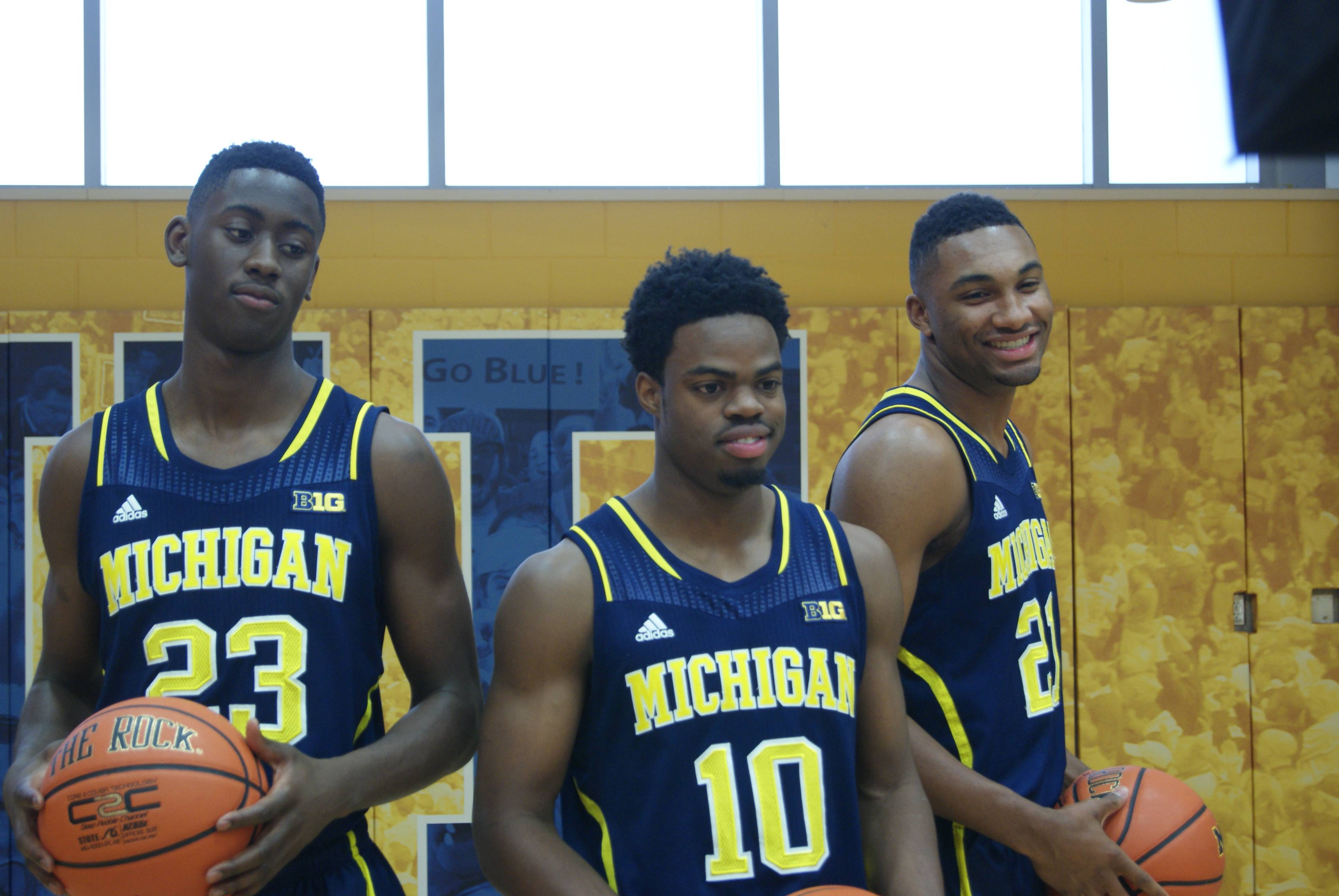 Michigan Basketball Media Day 2014 – 1