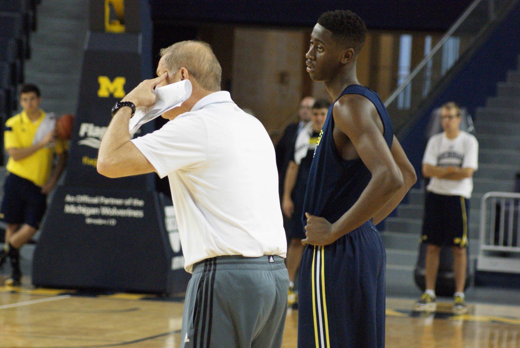 Michigan Media Day Practice – 26