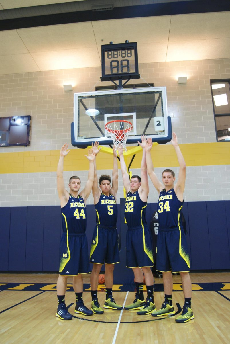 Michigan Basketball Media Day 2014 – 10
