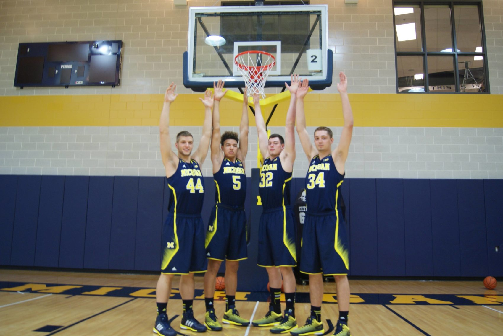 Michigan Basketball Media Day 2014 – 9