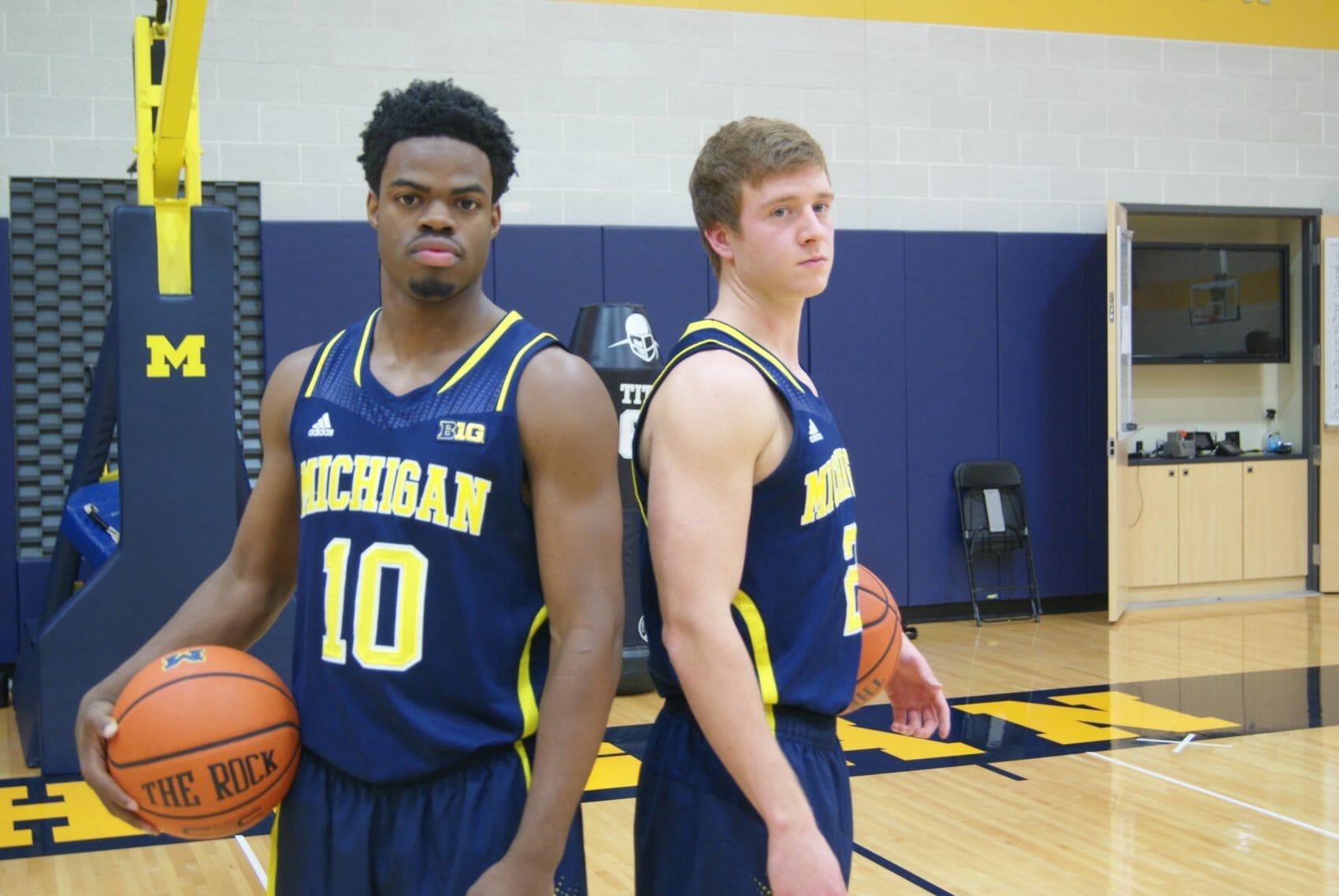 Michigan Basketball Media Day 2014 – 6