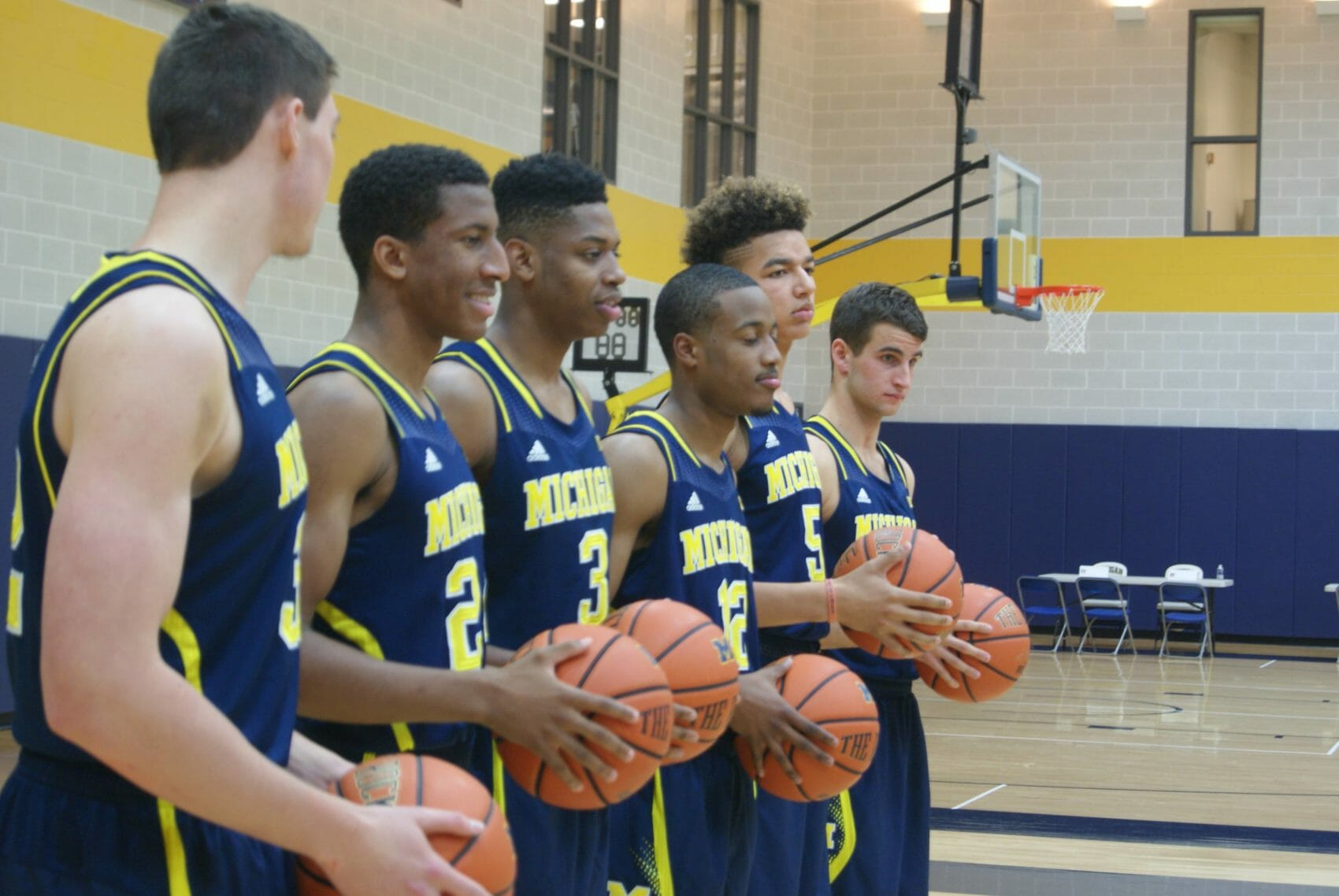 Michigan Basketball Media Day 2014 – 3
