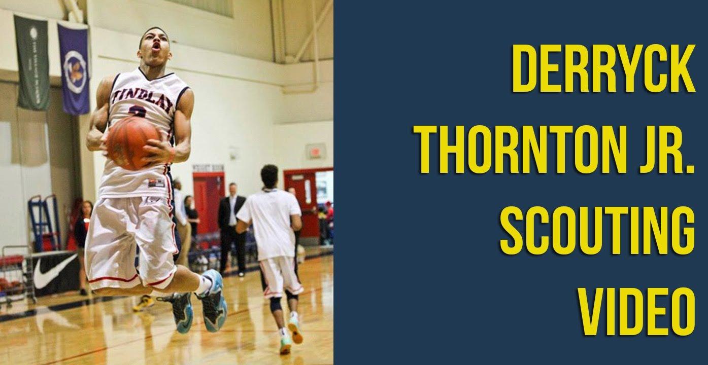 Michigan among top ten schools for Derryck Thornton Jr.