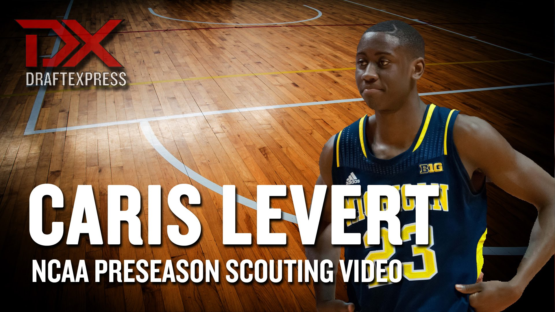 Caris LeVert 2014-15 Preseason Scouting Video