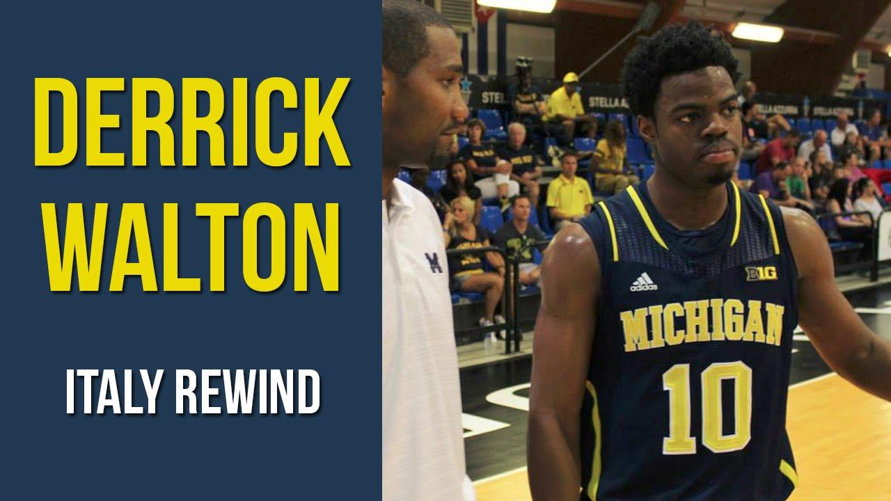 Italy Rewind: Derrick Walton