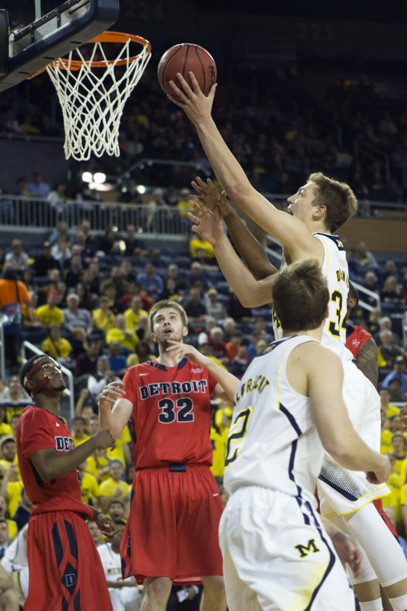 Michigan 71, Detroit 62 -#19