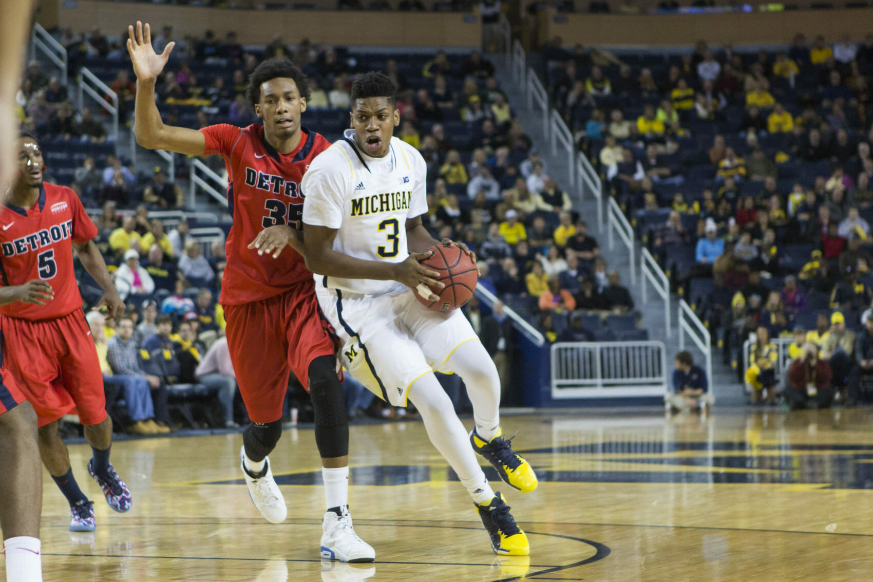 Michigan 71, Detroit 62 -#17