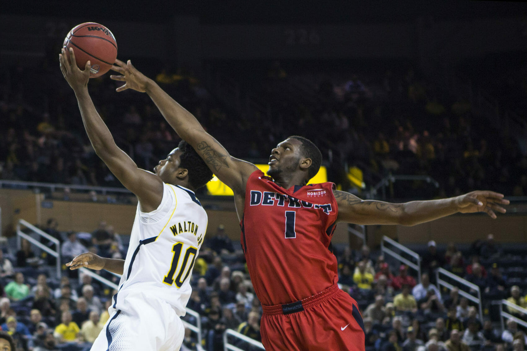 Michigan 71, Detroit 62 -#5