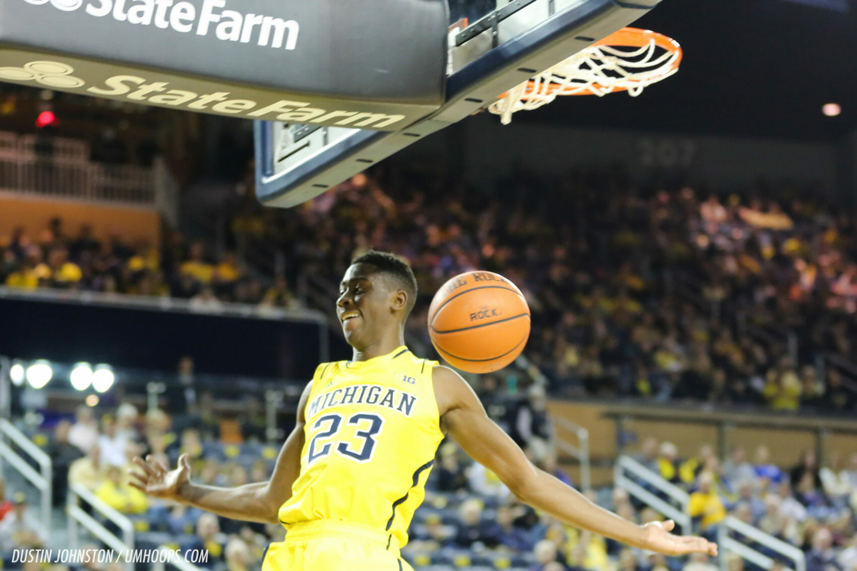 Michigan 92, Hillsdale 68-20