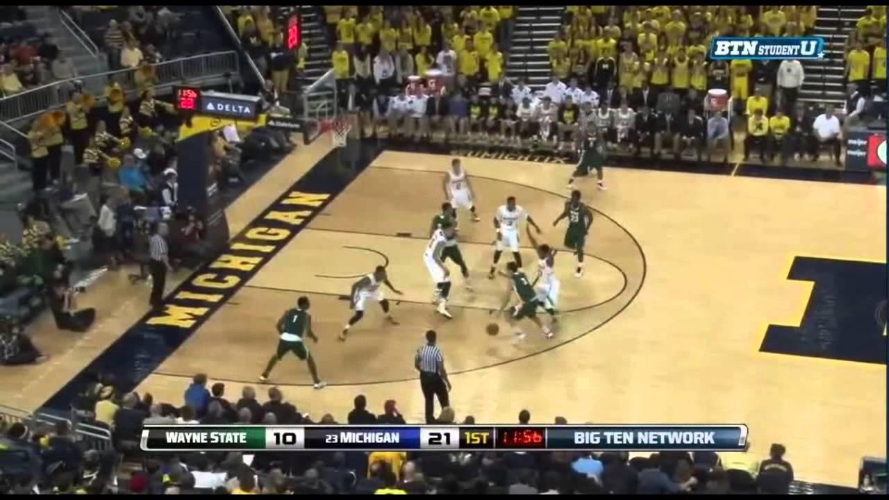 Five Key Plays: Wayne State at Michigan