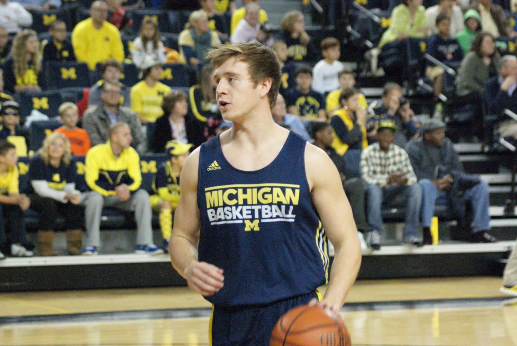 Michigan Basketball Open Practice – #20