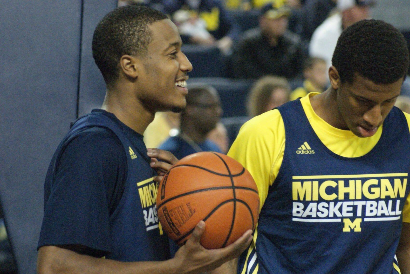 Michigan Basketball Open Practice – #19