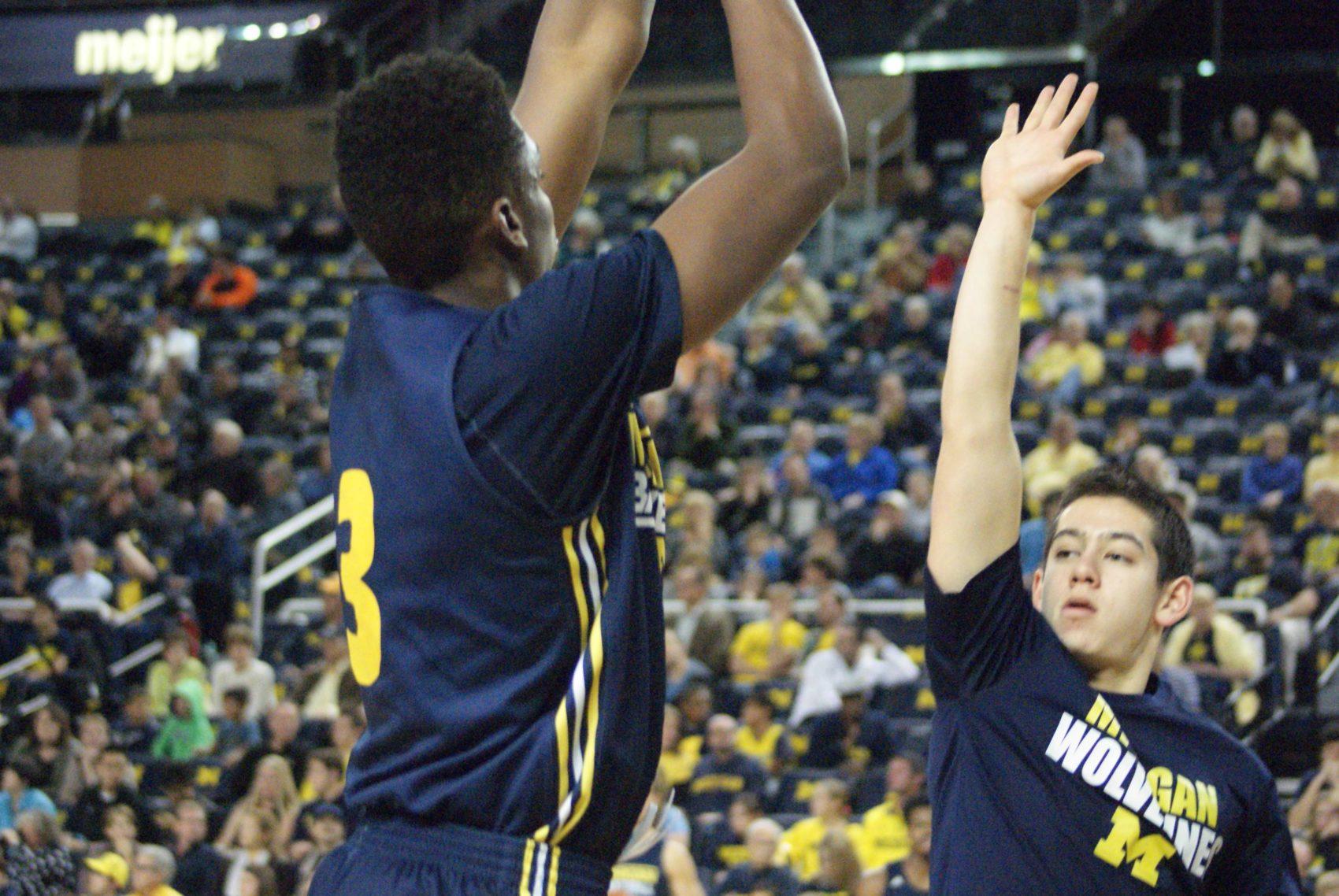 Michigan Basketball Open Practice – #18
