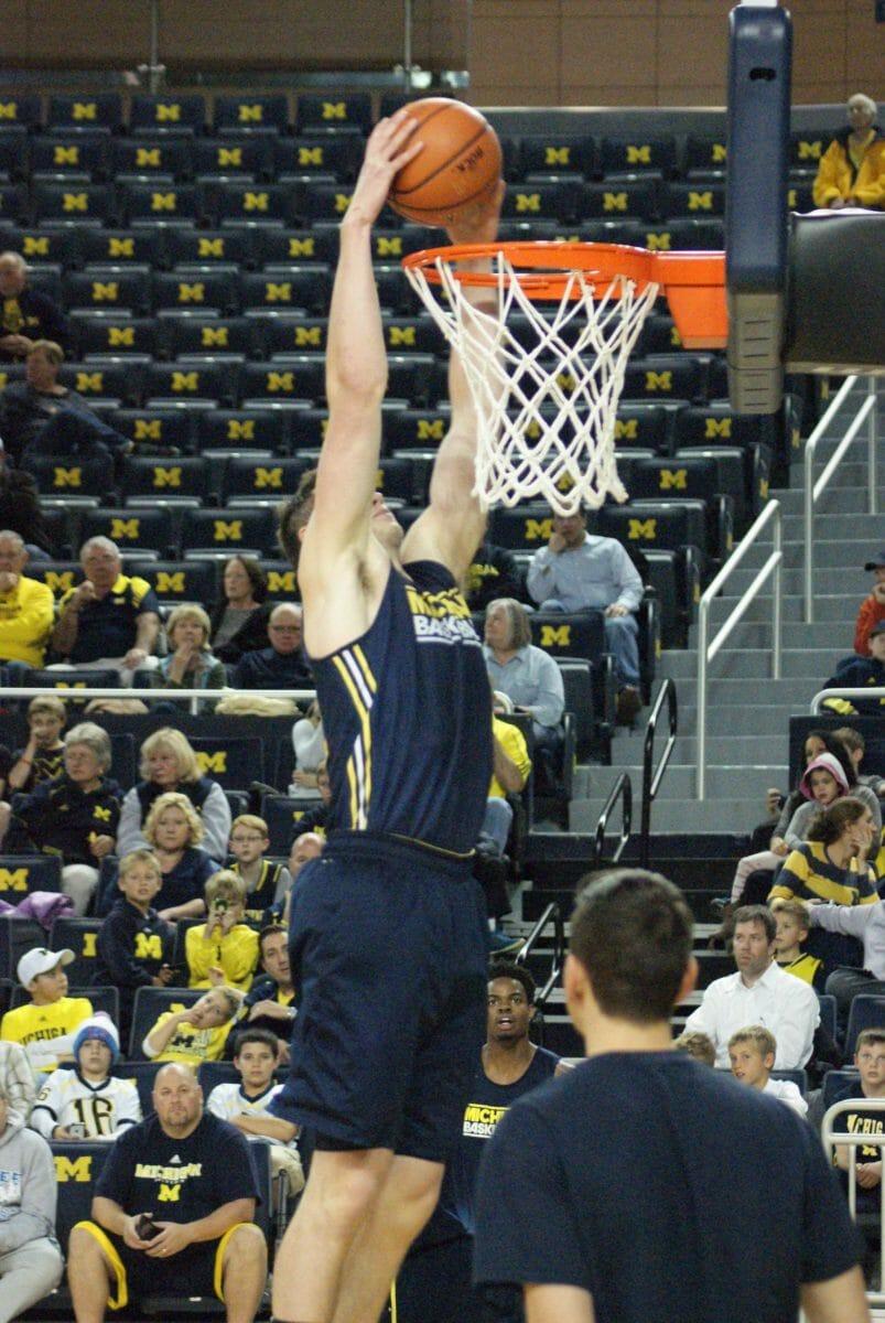 Michigan Basketball Open Practice – #16