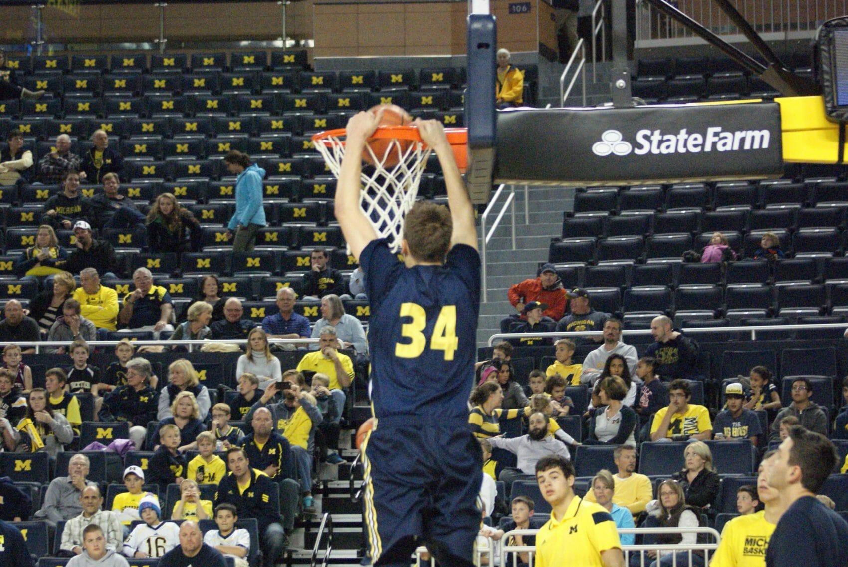 Michigan Basketball Open Practice – #15