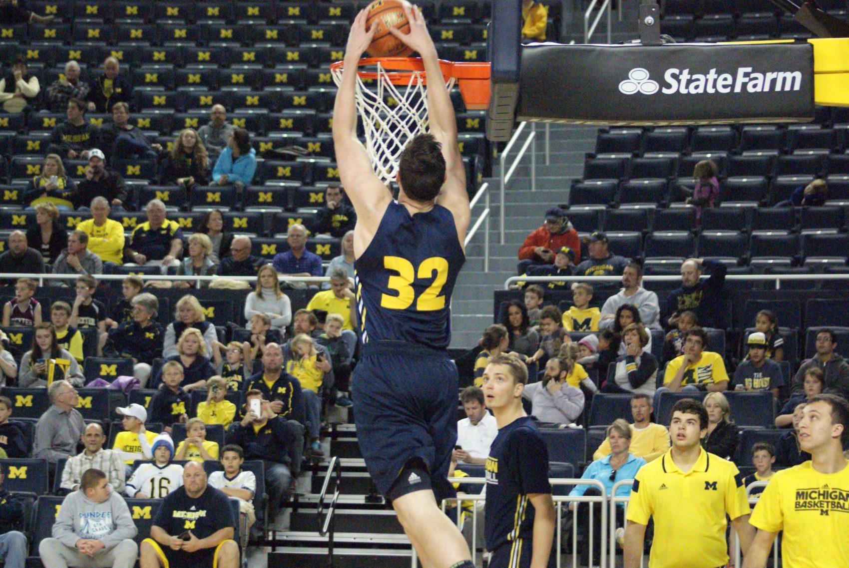Michigan Basketball Open Practice – #14