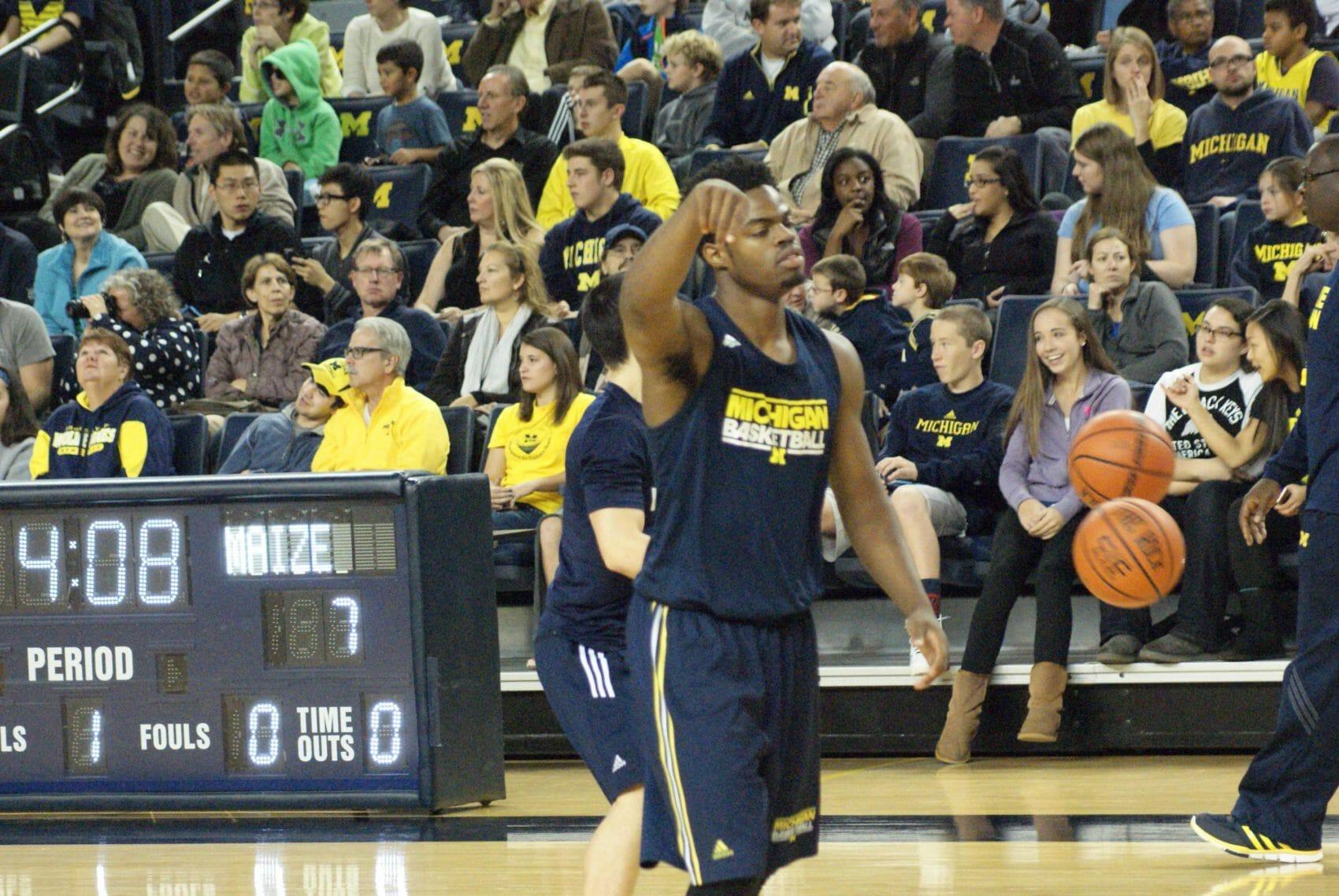 Michigan Basketball Open Practice – #13
