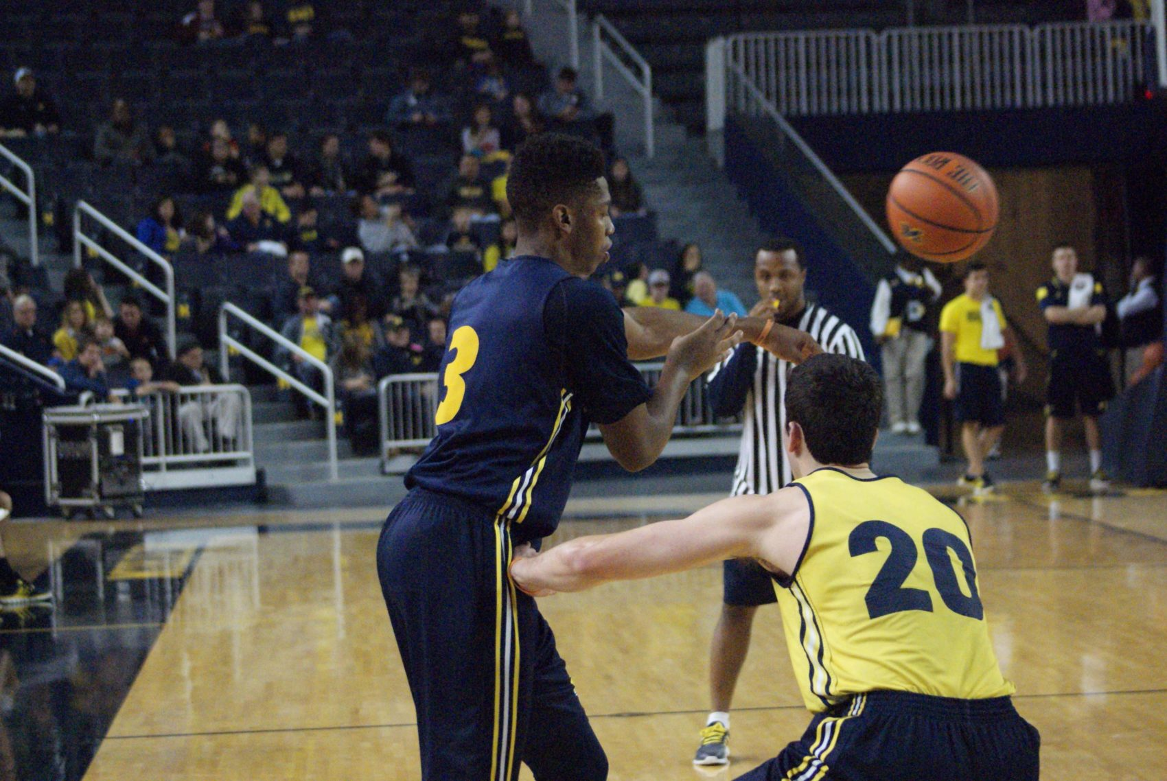 Michigan Basketball Open Practice – #8