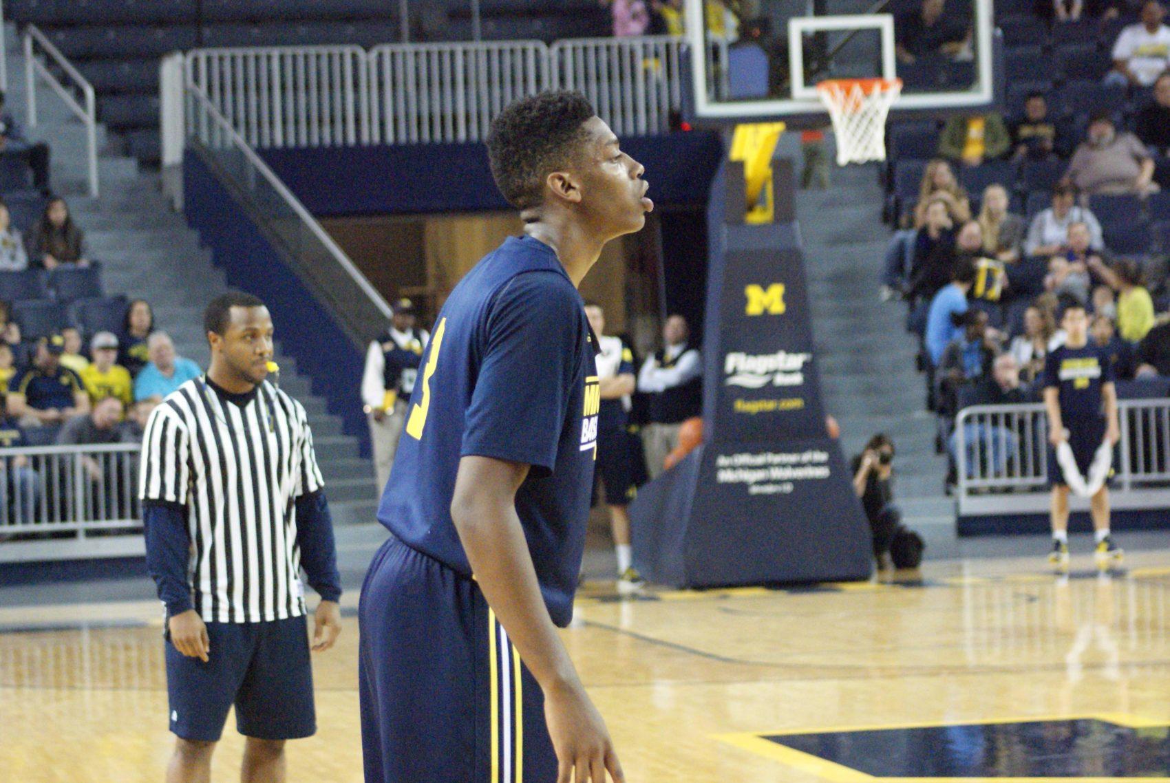 Michigan Basketball Open Practice – #7