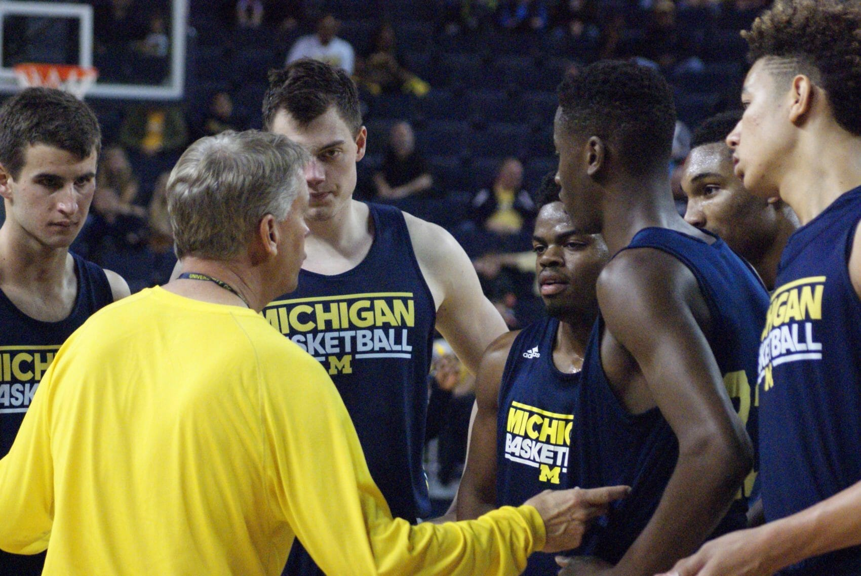 Michigan Basketball Open Practice – #6