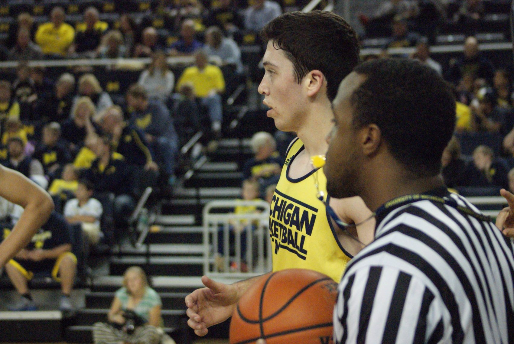 Michigan Basketball Open Practice – #5