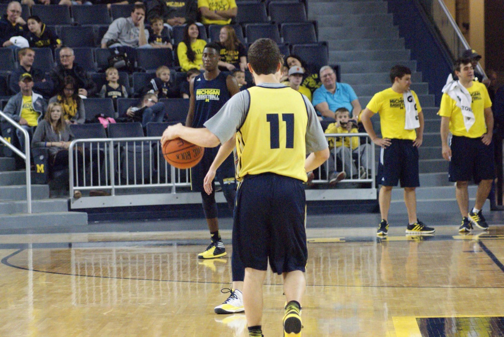 Michigan Basketball Open Practice – #3