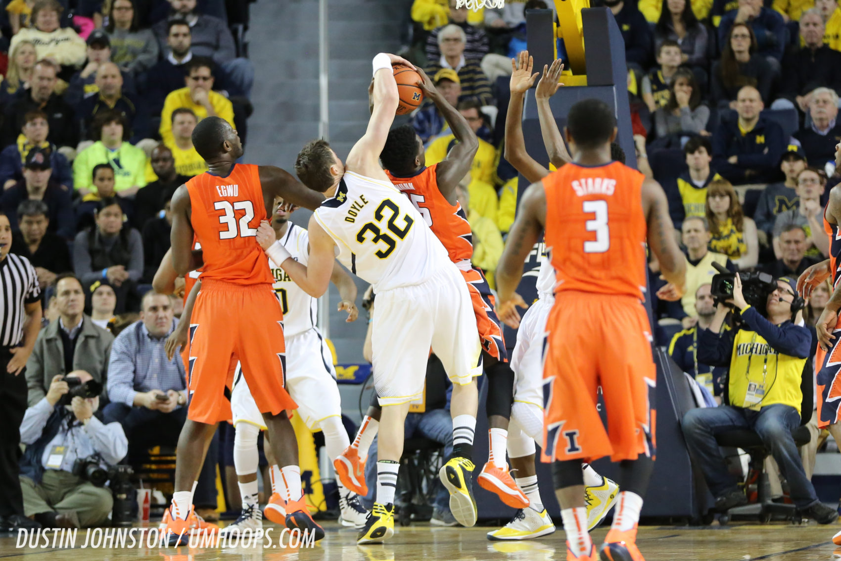 Michigan 73, Illinois 65 (OT) -2
