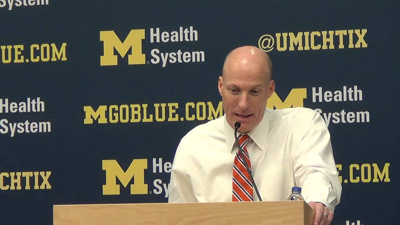 Jim Groce talks 13-point collapse, loss to Michigan