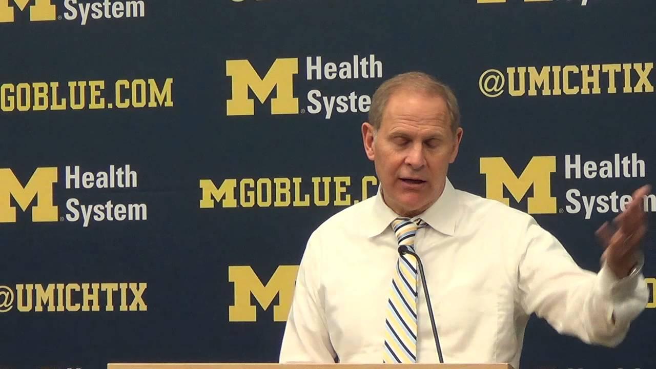 John Beilein recaps loss to Wisconsin