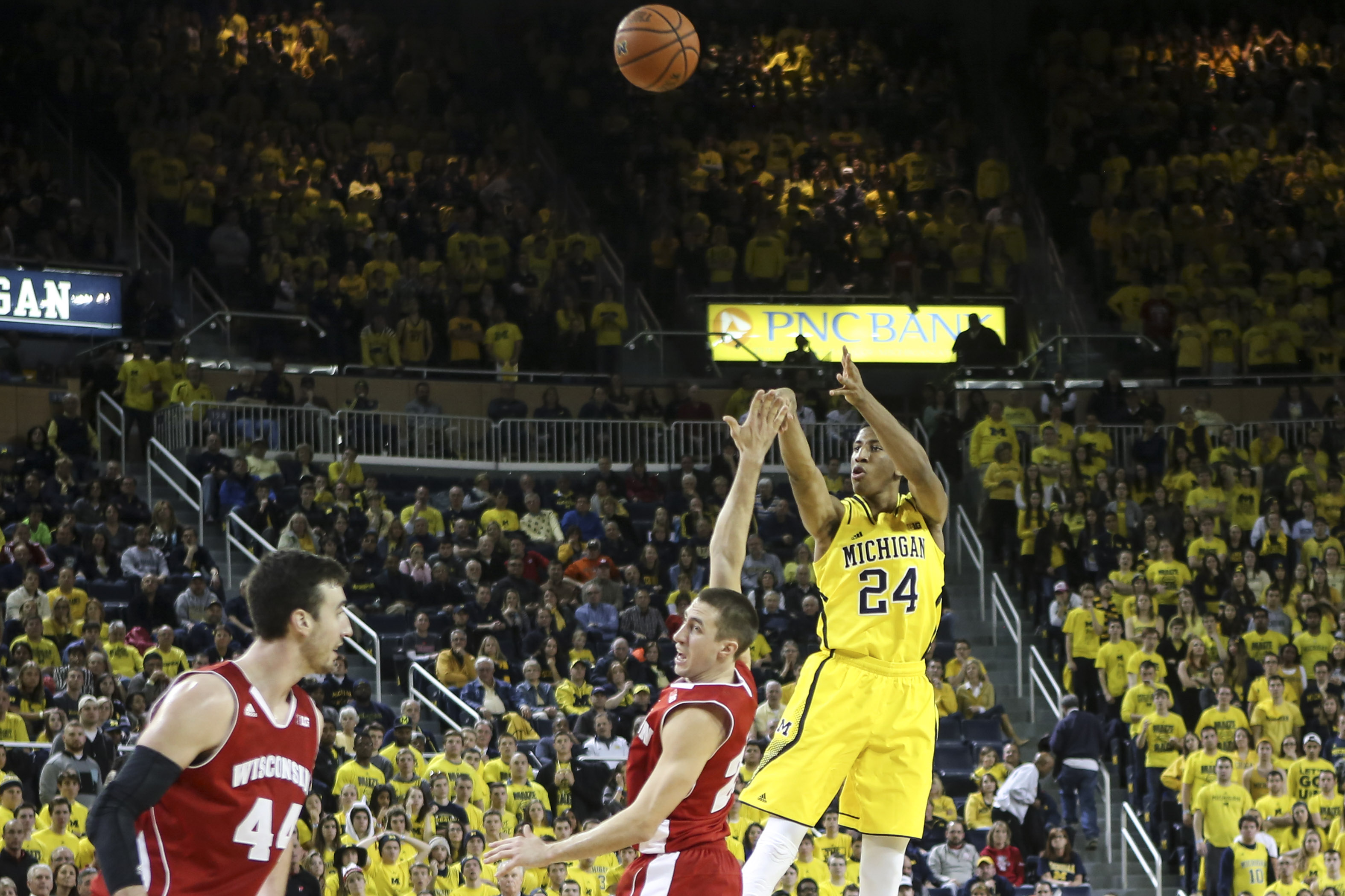 Wisconsin 69, Michigan 64 – #29