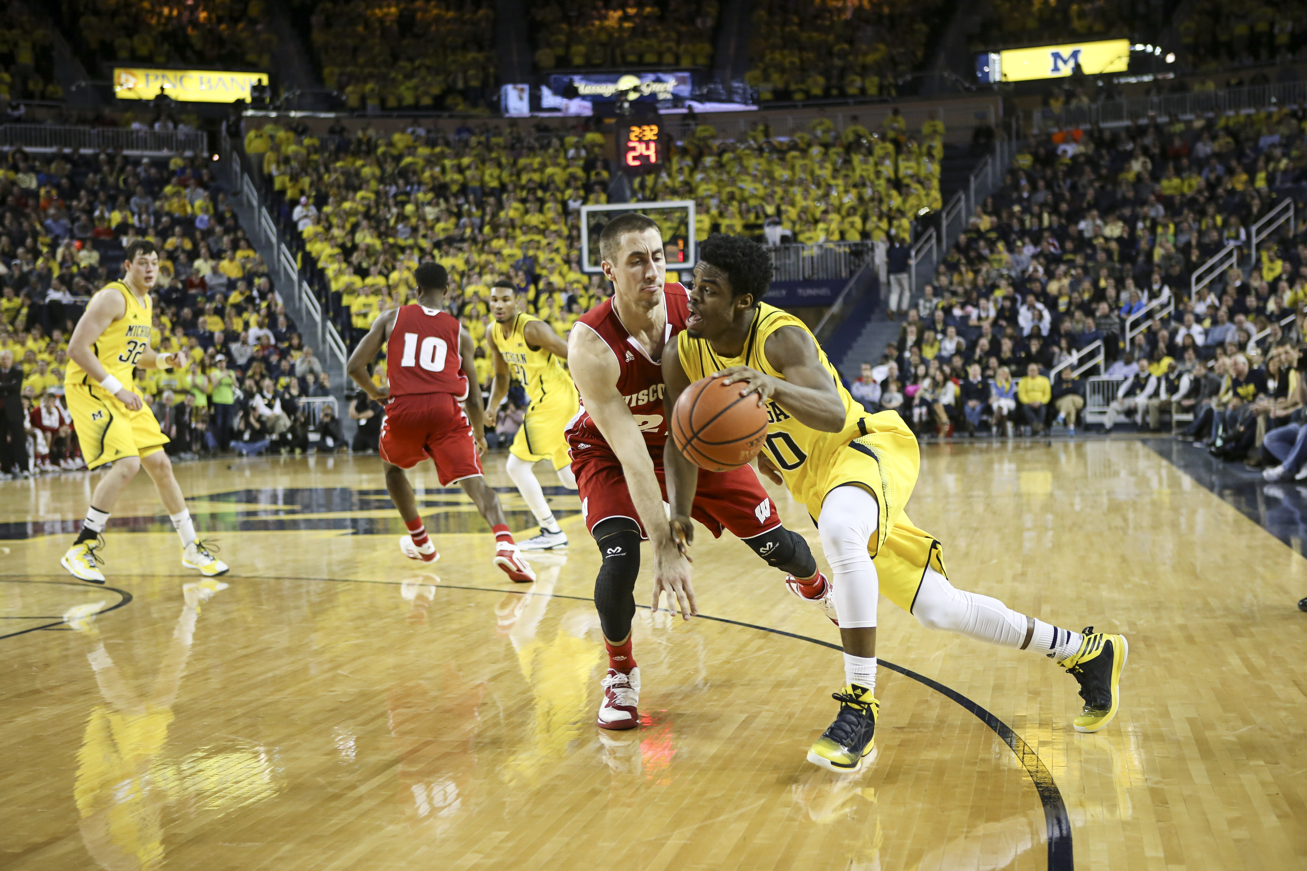 Wisconsin 69, Michigan 64 – #25